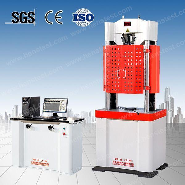 WE-1000D数显式液压万能试验机
